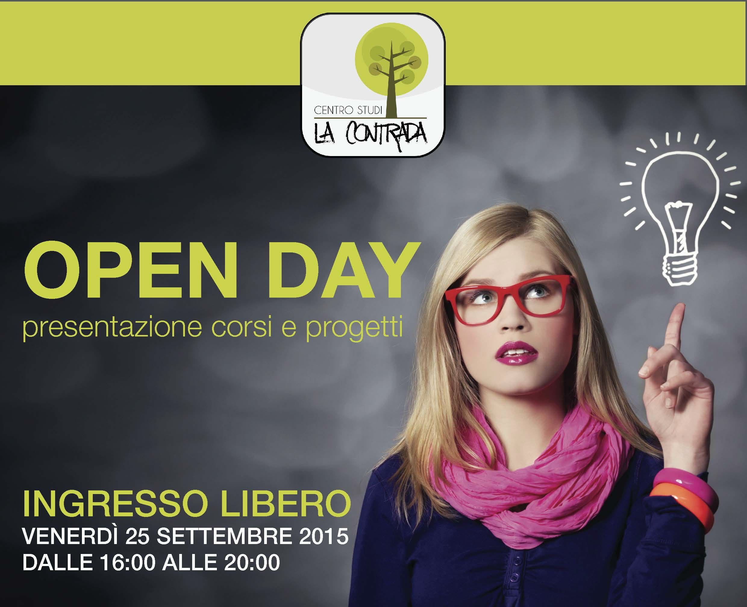 Centro Studi La Contrada Open Day 2015 home HQ
